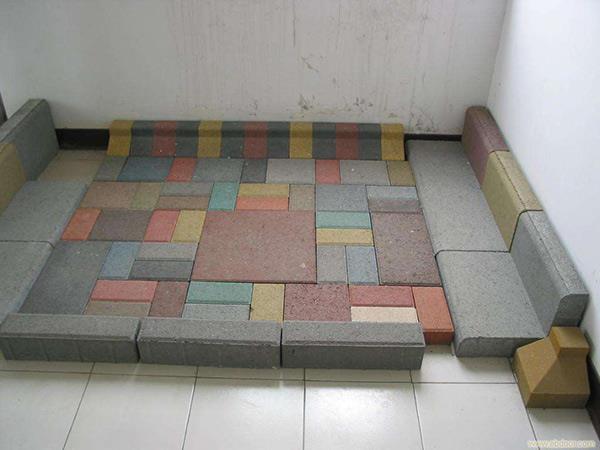 彩色荷兰砖