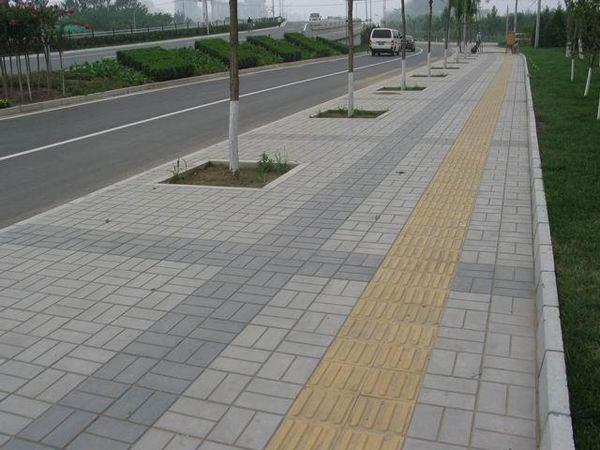 路面道板砖